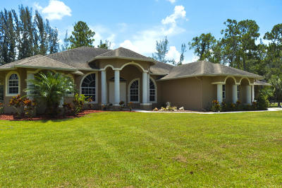 Loxahatchee Single Family Home For Sale: 15744 60th Place