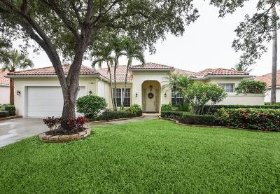 West Palm Beach Single Family Home For Sale: 7787 Spring Creek Drive