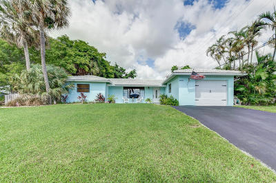 Palm Beach Gardens Single Family Home For Sale: 10017 Daphne Avenue