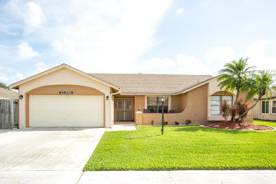 Lake Worth Single Family Home For Sale: 8467 White Egret Way