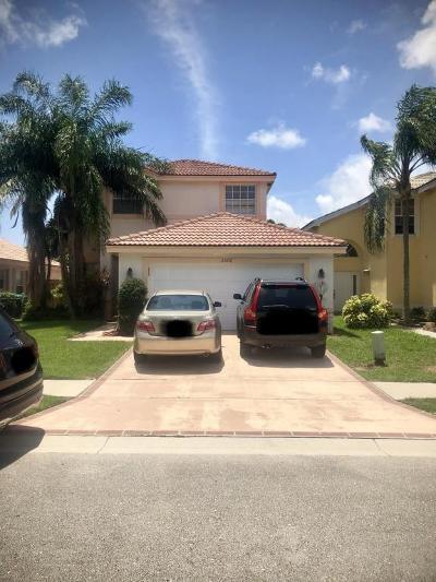 Boynton Beach Single Family Home For Sale: 3578 Chesapeake Circle