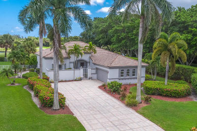 West Palm Beach Single Family Home For Sale: 8164 Lakeview Drive
