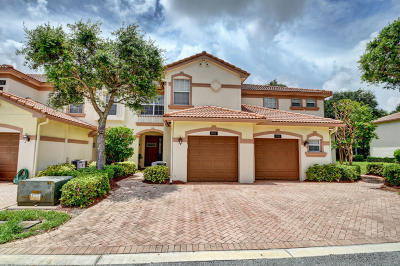 Delray Beach Townhouse For Sale: 16097 Poppyseed Circle #1907