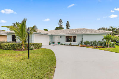 North Palm Beach Single Family Home For Sale: 1951 Juno Isles Boulevard
