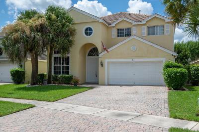 Royal Palm Beach Single Family Home For Sale: 214 Kensington Way