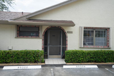 Boca Raton Single Family Home For Sale: 8930 SW 19th Street #G