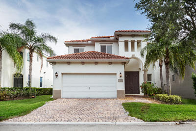 Riviera Beach Single Family Home Contingent: 1100 Center Stone Lane