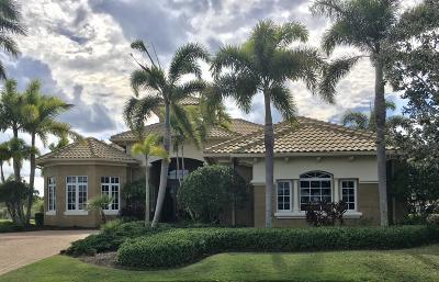 Port Saint Lucie Single Family Home For Sale: 128 SE Via San Marino