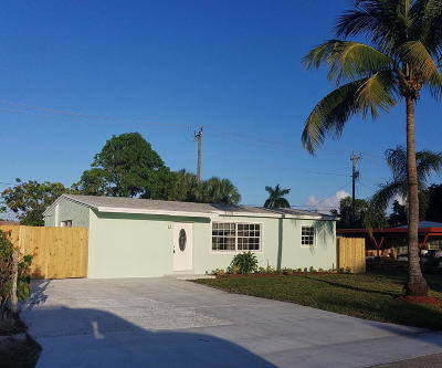 Pompano Beach Single Family Home For Sale: 3070 NE 13th Avenue