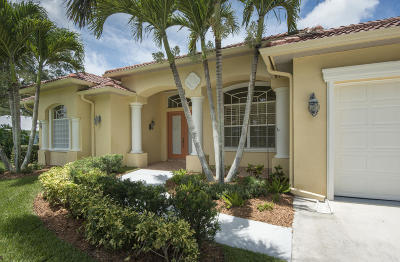 Fort Pierce Single Family Home Contingent: 1808 Hazelwood Drive