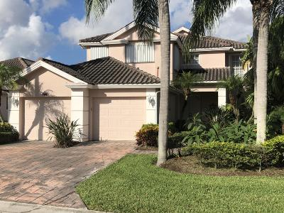 Palm Beach Gardens FL Single Family Home For Sale: $595,000