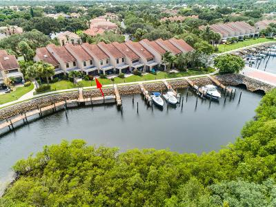 Palm Beach Gardens Townhouse For Sale: 2320 Treasure Isle Drive #A72