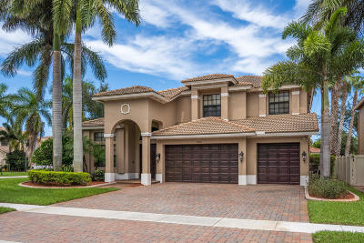 Boynton Beach Single Family Home For Sale: 12920 Pennell Pines Road