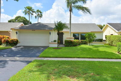 Boca Raton Single Family Home For Sale: 10586 180th Place S