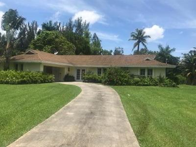 West Palm Beach Single Family Home Contingent: 5119 Horseshoe Circle