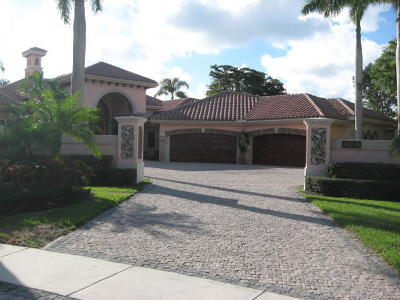 Delray Beach Single Family Home For Sale: 16275 Vintage Oaks Lane