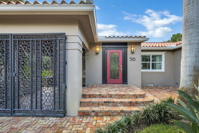 Lake Worth Single Family Home For Sale: 516 L Street