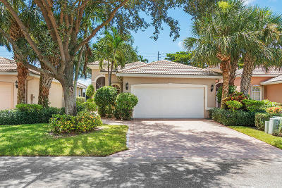 Delray Beach Single Family Home Contingent: 7034 Via Genova