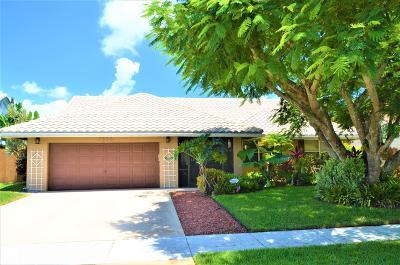Boynton Beach Single Family Home For Sale: 9888 Majestic Way