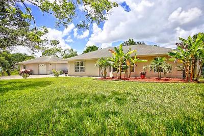 Loxahatchee Single Family Home For Sale: 16967 92nd Lane