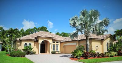 Port Saint Lucie Single Family Home For Sale: 854 SW Grand Reserves Boulevard