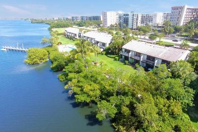 Palm Beach Townhouse For Sale: 3474 S Ocean Boulevard #0110