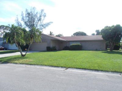 Royal Palm Beach Single Family Home Contingent: 143 Heron Parkway