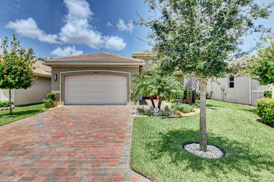 Boynton Beach Single Family Home For Sale: 8709 Carmel Mountain Way
