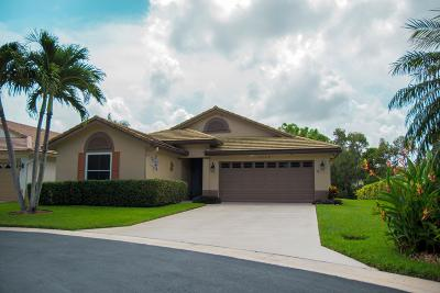 Boynton Beach Single Family Home Contingent: 4210 Manor Forest Trail