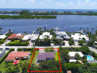 West Palm Beach Single Family Home For Sale: 8009 Flagler Court