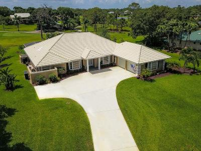 Palm City Single Family Home For Sale: 5232 SW Bimini Circle
