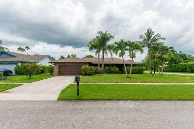Boca Raton Single Family Home For Sale: 21053 Shady Vista Lane