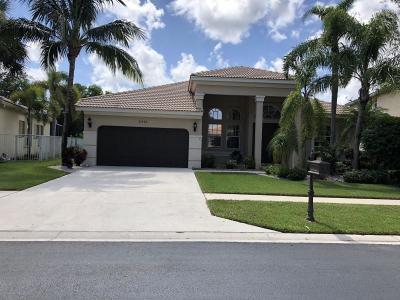 Lake Worth Single Family Home For Sale: 6546 Stonehurst Circle