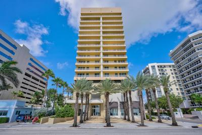 West Palm Beach Condo For Sale: 1551 Flagler Drive #811