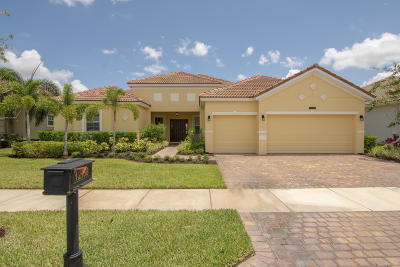 Port Saint Lucie Single Family Home For Sale: 12158 SW Aventino Drive