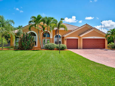 Lake Worth Single Family Home For Sale: 9886 Crossbill Court