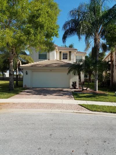 Royal Palm Beach Single Family Home Contingent: 11491 Blue Violet Lane