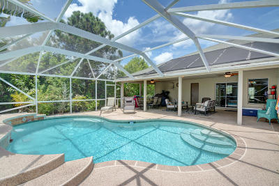 Port Saint Lucie Single Family Home For Sale: 5824 NW Cullom Circle