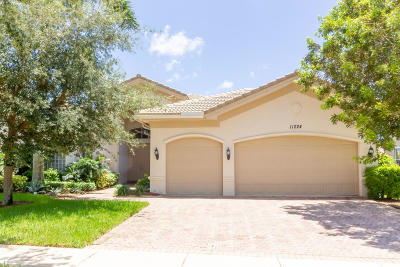 Boynton Beach Single Family Home Contingent: 11224 Brandywine Lake Way