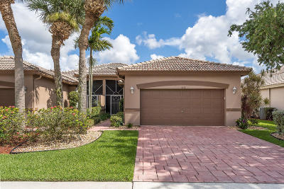 Boynton Beach Single Family Home Contingent: 5818 Grand Harbour Circle