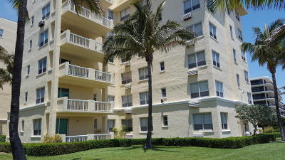 Palm Beach Condo For Sale: 2730 S Ocean Boulevard #403