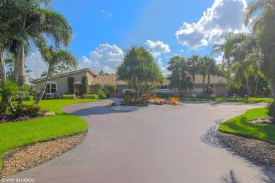 Lake Worth Single Family Home For Sale: 6300 Angus Road