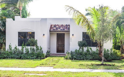 Lake Worth Single Family Home For Sale: 1614 S Palmway