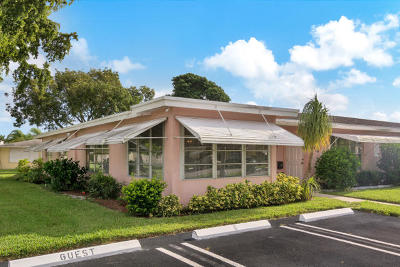 Delray Beach Condo For Sale: 217 W High Point Terrace #A