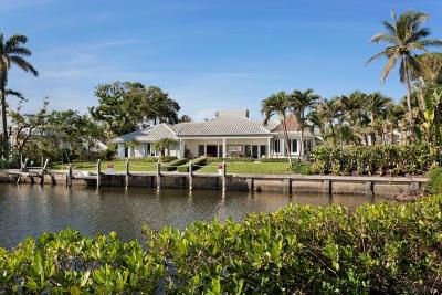 Manalapan Single Family Home For Sale: 1400 Lands End Road