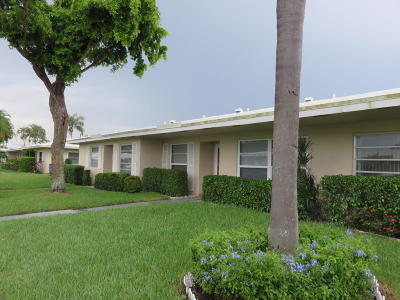 Boca Raton Single Family Home For Sale: 8935 Warwick Drive #443