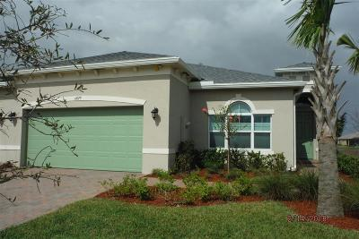 Port Saint Lucie Single Family Home For Sale: 11079 Winding Lakes Circle