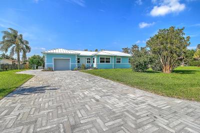 Delray Beach Single Family Home For Sale: 4606 Brady Boulevard