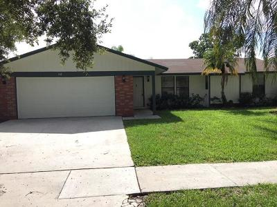 Royal Palm Beach Single Family Home Contingent: 116 Park Road