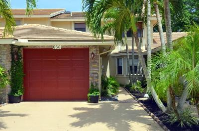 Deerfield Beach Townhouse For Sale: 656 Shore Drive